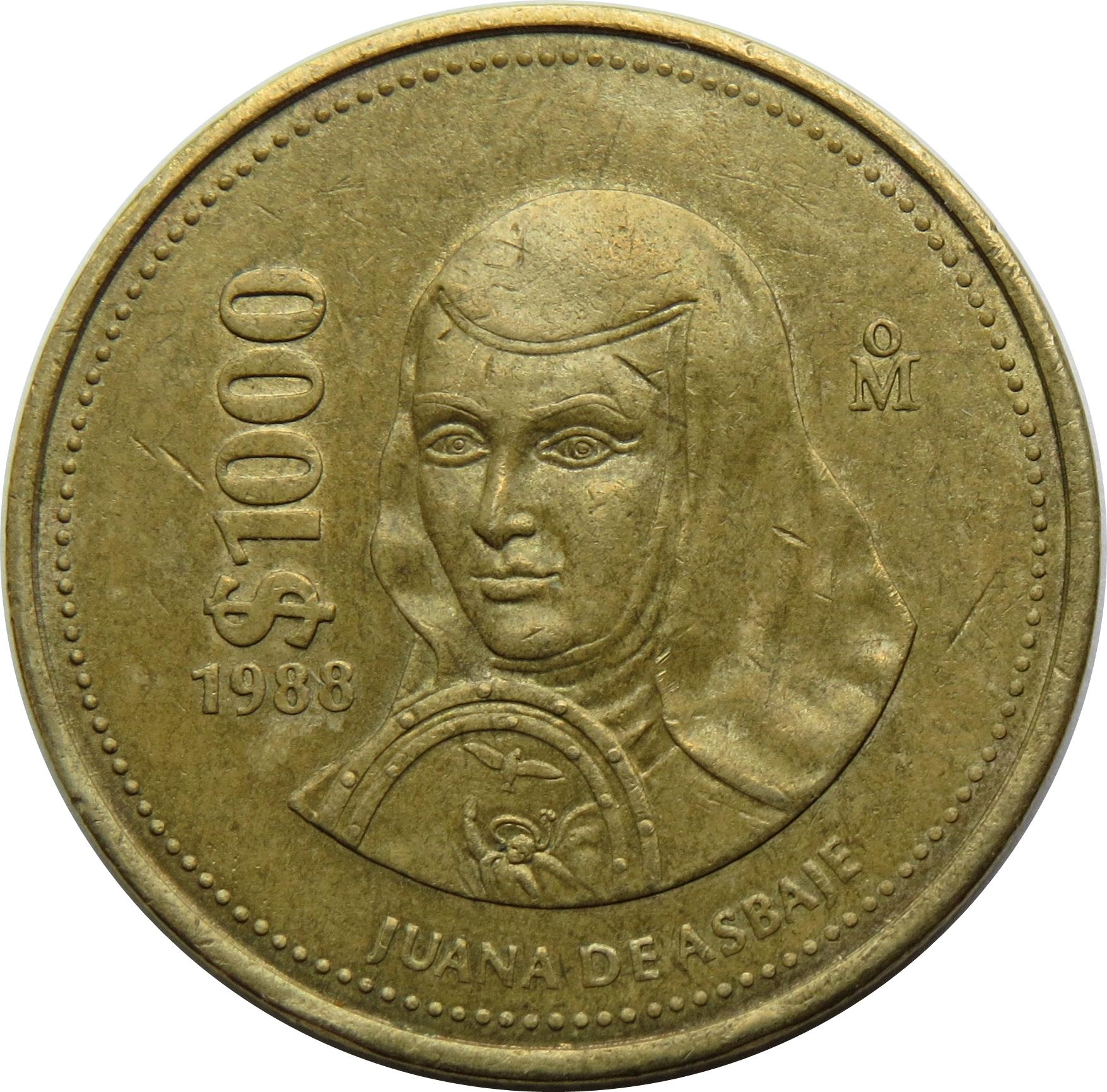 1000 Pesos - Mexico – Numista