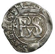 ½ Real - Felipe II – obverse