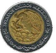5 Nuevos Pesos -  obverse
