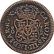 ½ Grano - Carlos III (Pattern) – reverse