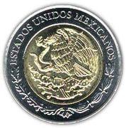5 Pesos (Andrés Molina Enríquez) -  obverse