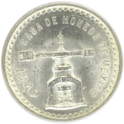 1 Onza (Medallic Silver Bullion Coinage) – obverse