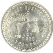 1 Onza (Medallic Silver Bullion Coinage) -  reverse