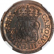 1 Grano - Carlos I – reverse