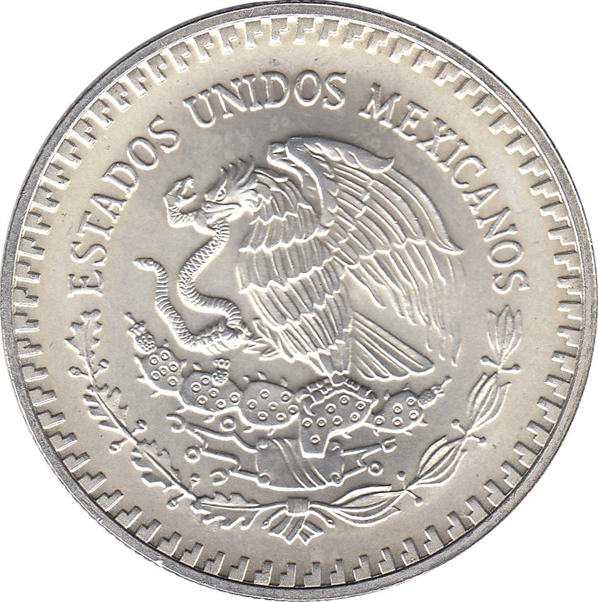 Coin Mexico Silver 1 Onza 1986 Mexico Ley .999