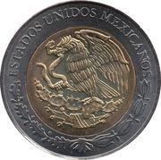5 Pesos (Otilio Montaño) -  obverse