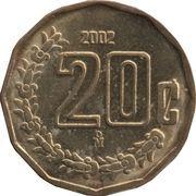 20 Centavos (large type) -  reverse