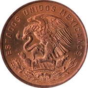 20 Centavos (Type 2 National Emblem) -  obverse