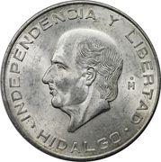 10 Pesos (Hidalgo Grande) -  reverse