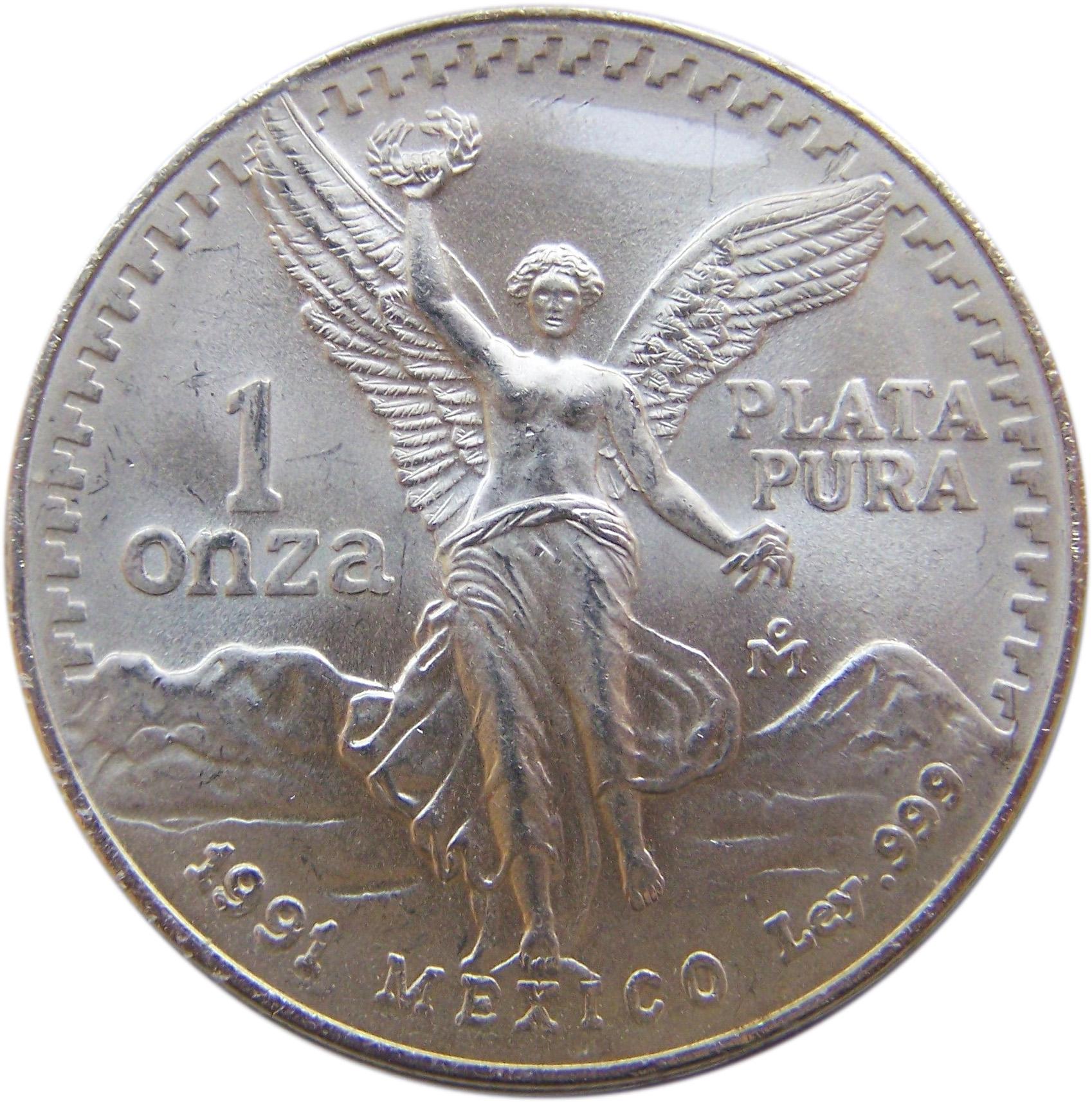 silver libertad onza