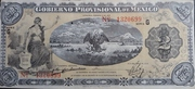 2 pesos (gobierno provisional de Mexico) – obverse