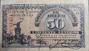 50 Centavos de Pesos (Estado libre y soberano de Mexico) – obverse
