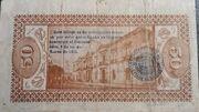 50 Centavos de Pesos (Estado libre y soberano de Mexico) – reverse