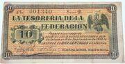 10 centavos Guayamas SONORA – obverse
