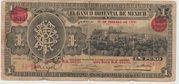 1 Peso  (EL BANCO ORIENTAL DE MEXICO) – obverse