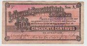 Mexico -  Revolutionary, Sinaloa 1914 – obverse