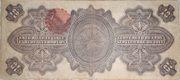10 Pesos (Gobierno Provisional de Mexico) – reverse
