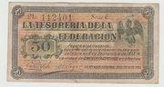 50 Centavos ( Guaymas Sonora ) – obverse