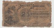 25 Centavos 1888, Banco Mexicano – obverse