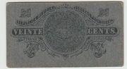 20 centavos  Gobierno Provisional de Mexico – reverse