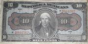 10 Pesos (República Mexicana; Gobierno Constitucionalista) – obverse