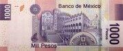1,000 Pesos -  obverse