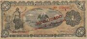 1 Peso (Gobierno Provisional de México) – obverse