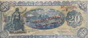 20 Pesos (Gobierno Provisional de México) – obverse
