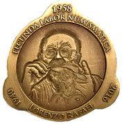 Medal - Lorenzo Rafael – obverse