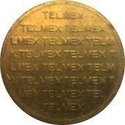 Telephone Token - Ladatel - Telmex – reverse
