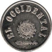 Metro Token - Guadalajara (22 mm) – reverse