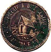 Wage token (San Jose Kuche) – obverse