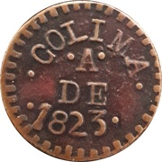 Token - Colima – reverse