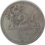 12½ Centavos - Sociedad Explotadora de Palo de Tinte – reverse