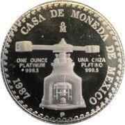 Non-Libertad Platinum (Bullion Coinage) -  obverse