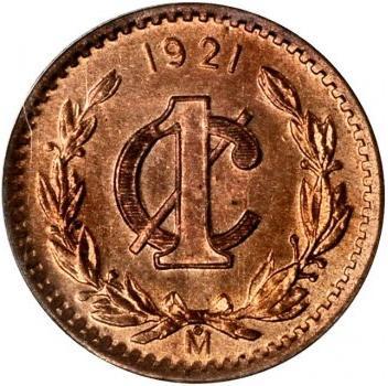 1 Centavo Mexique Numista