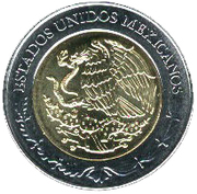 5 Pesos (Carlos María de Bustamante) -  obverse