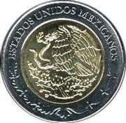 5 Pesos (Álvaro Obregón) -  obverse