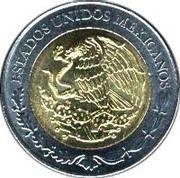 5 Pesos (José María Morelos y Pavón) -  obverse