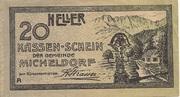 20 Heller (Micheldorf) -  obverse