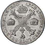 1 Crocione, 1 Kronenthaler - Franz II -  reverse