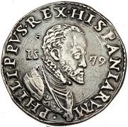 1 Ducatone - Filippo II – obverse