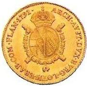 ½ Sovrano - Leopold II -  obverse