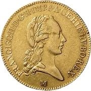 ½ Sovrano - Franz II -  obverse