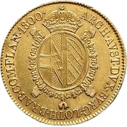 ½ Sovrano - Franz II – reverse