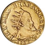 1 Doppia - Felipe II – obverse