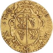 1 Doppia - Carlo II – reverse