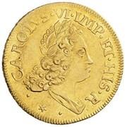 1 Doppia - Carlo III – obverse