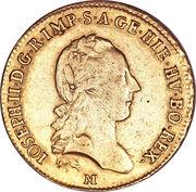 1 Sovrano - Joseph II – obverse