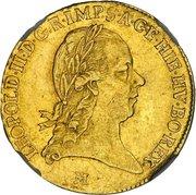 1 Sovrano - Leopold II – obverse
